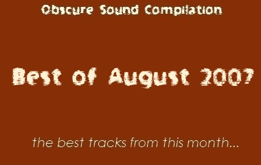 Obscure Sound: Best of August 2007