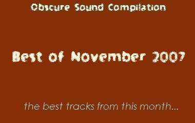 Obscure Sound: Best of November 2007