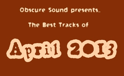 April 2013 indie music compilation