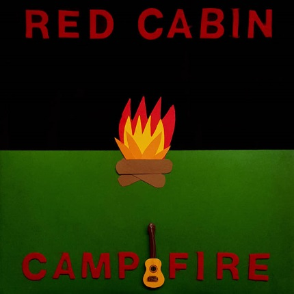 red cabin camp fire