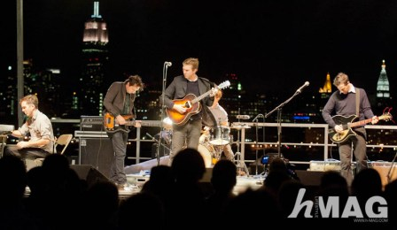 The Walkmen playing live